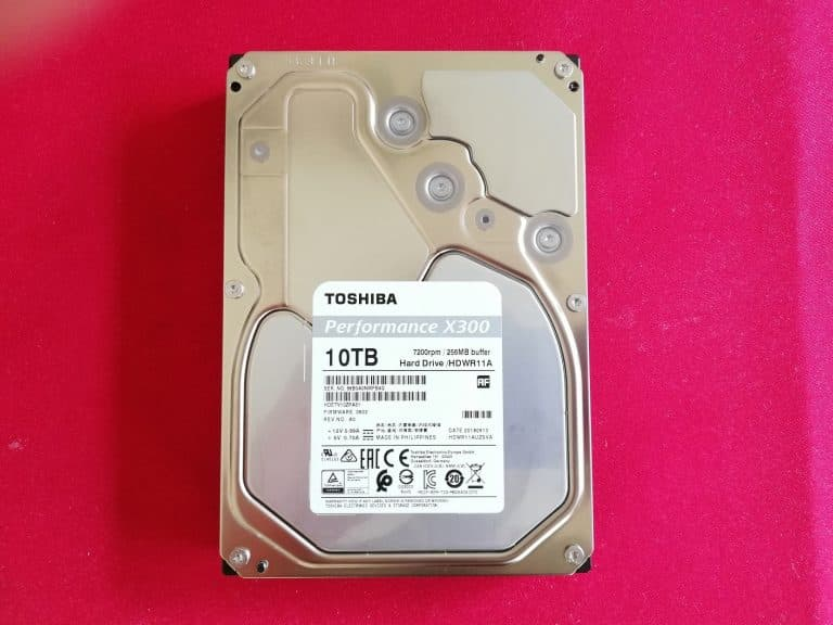 Toshiba MX300 10 To HDD